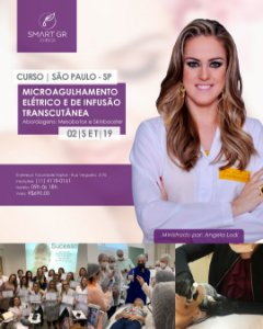 Curso Microagulhamento Elétrico e de Infusão Transcutânea (Mesobotox e Skinbooster) – SAO PAULO SP - 02 de Setembro 2019