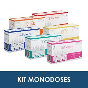 Kit monodoses | Smart Mesoeffect Like, Smart Booster, Smart Lift, Smart Hexyl Pro, Smart Vita C e Smart Hair Growth - Smart GR