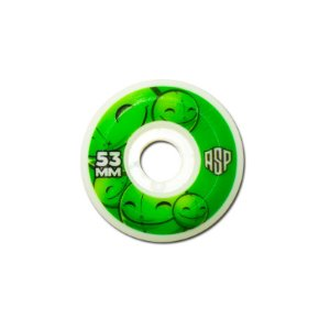 Roda Aspecto 53MM  Gum Bullet Green