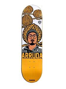 Shape marfim Pro model Bruno Arruda - Aspecto decks série caricaturas.