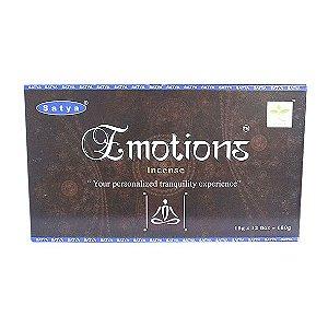 Incenso Emotions Satya Box com 12 Unidades