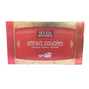 Incenso Attract Couples Box com 12 Unidades