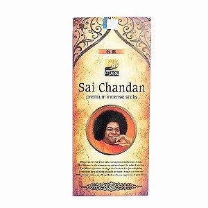 Incenso Sai Chandan Premium com 12 Unidades