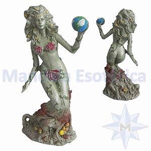 Estatua Gaia Mãe Terra