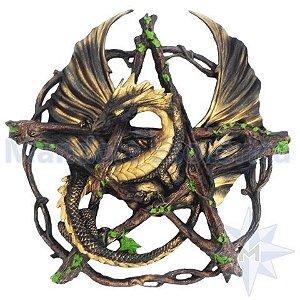 Dragão Negro no Pentagrama