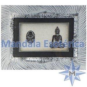 Quadro Buda miniatura preto B