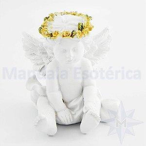 Anjinho Branco Sentado C