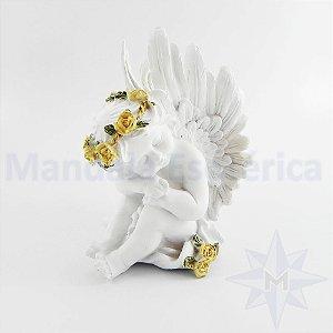 Anjinho Branco Recostado