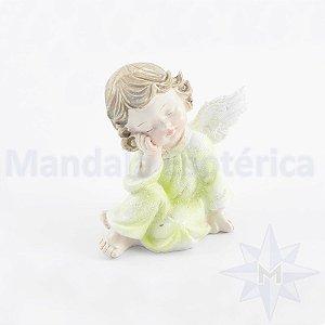 Anjo Recostado Verde B