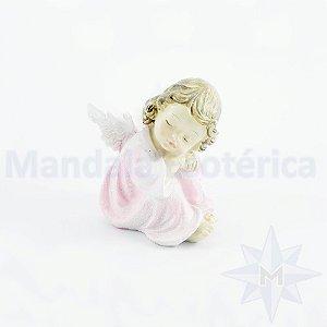 Anjo Recostado Rosa A