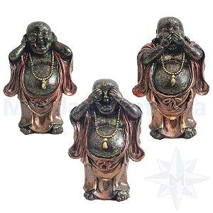 Trio de Budas Sábios