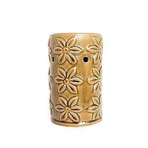 Rechô em Cerâmica Flores em Relevo