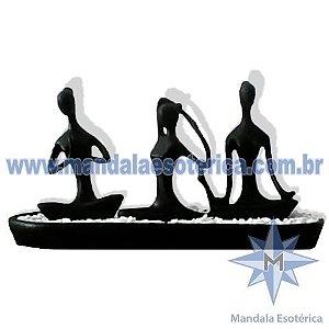 Posições de Yoga Preto