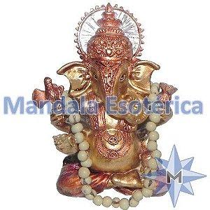 Ganesha Bronze com japamala