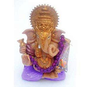 Ganesha Lilas com japamala