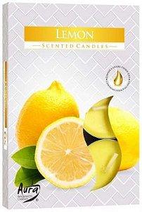 Vela T'Light Aroma Limão