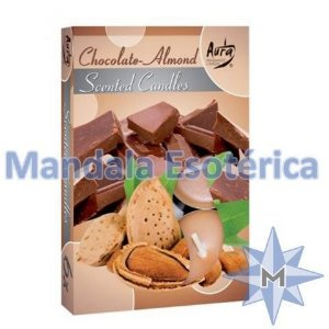 Vela TLight Aroma Chocolate com Amêndoa