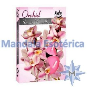 Vela TLight Aroma Orquídea