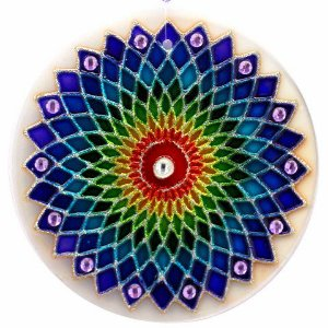 Mandala Arco-íris - Extra Grande