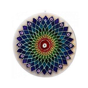 Mandala Arco-íris - Média