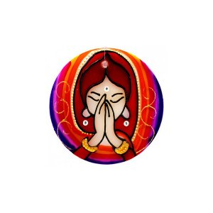 Mandala Namastê - Pequena