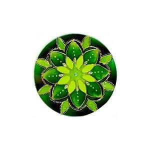 Mandala Verde Esperança - Pequena