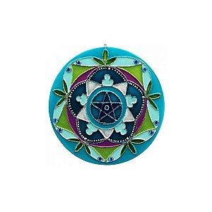 Mandala Pentagrama - Pequena