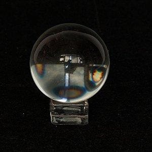 Bola de cristal 8 cm com base