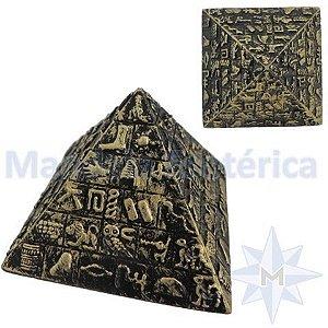 Piramide Egípcia com Hieróglifos