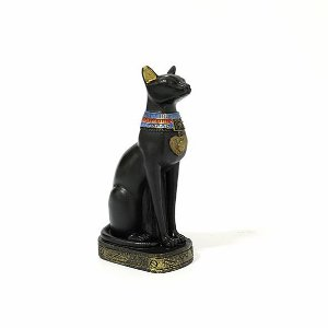 Estatueta Egípcia Gato Bastet 14 Cm