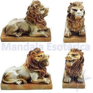 Leões Guardiões o Par