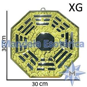 Bá-Gua Espelhado Amarelo - 30cm