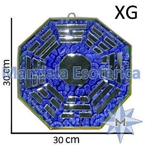 Bá-Gua Espelhado Azul - 30cm