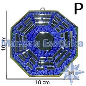 Bá-Gua Espelhado Azul - 10cm