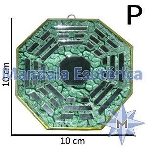 Bá-Gua Espelhado Verde - 10 cm
