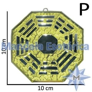 Bá-Gua Espelhado Amarelo - 10cm
