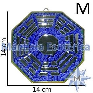 Bá-Gua Espelhado Azul - 14cm