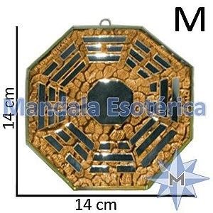 Bá-Gua Espelhado Laranja - 14 cm