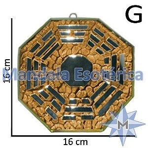 Bá-Gua Espelhado Laranja - 16 cm