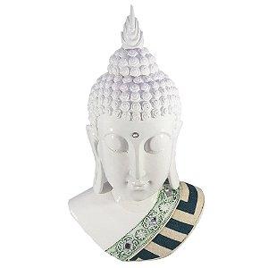 Buda Busto Branco com Tecido