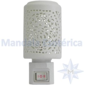 Rechô elétrico Cerâmica branca Vazado - 220 Volts