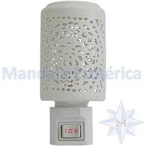 Rechô elétrico Cerâmica branca Vazado - 110 Volts