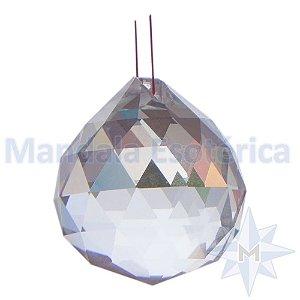 Prisma de Cristal Pendulo Bola Facetada D05