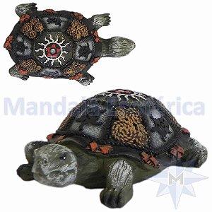 Tartaruga Colorida de Resina A