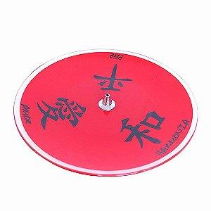 Incensário Prato Kanji Vermelho