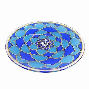 Incensário Mandala Azul