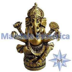 Ganesha Dourado da Fortuna