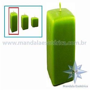 Vela Decorativa de Natal Verde Grande