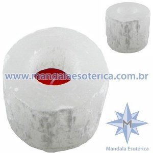 PORTA VELAS DE SELENITA - CJA-3532