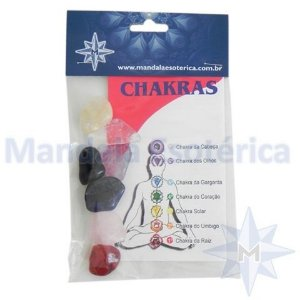 Kit 7 Pedras do Chakras